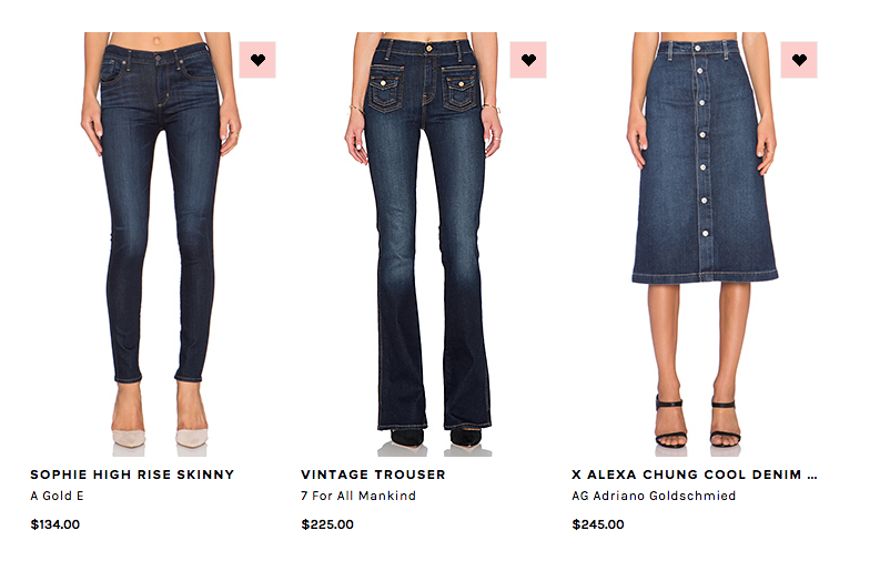 Fall Denim 'Must-Haves' #Denim #Trends #FW1516